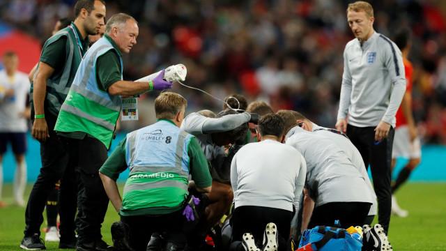 Após choque arrepiante, Shaw já recuperou a consciência