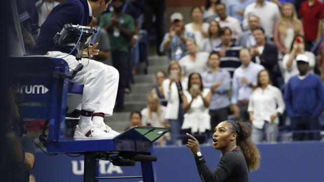 US Open: Serena perde final e protagoniza polémica com árbitro português