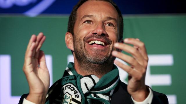 Ações do Sporting disparam 7% após eleição de Frederico Varandas