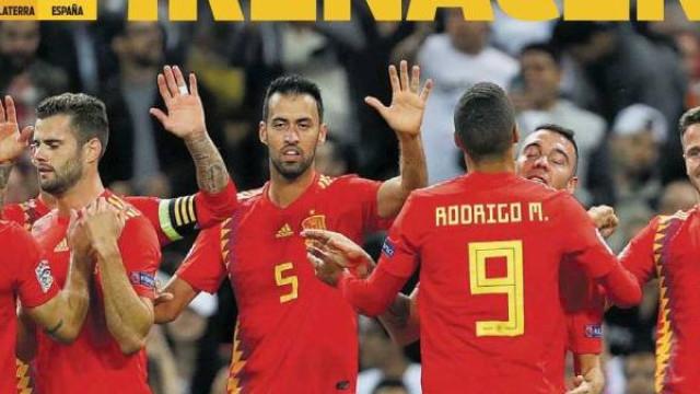 Lá fora: Espanhóis rejubilam e Mancini lança 'arma secreta' em Lisboa