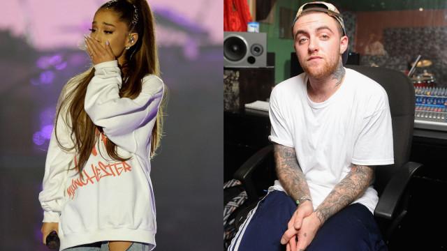 """Ariana Grande recorda Mac Miller: """"Não merecia os demónios que tinha"""""""