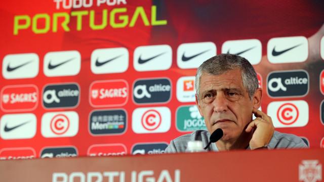 """Fernando Santos pede Portugal """"ao seu nível"""" frente a Itália"""