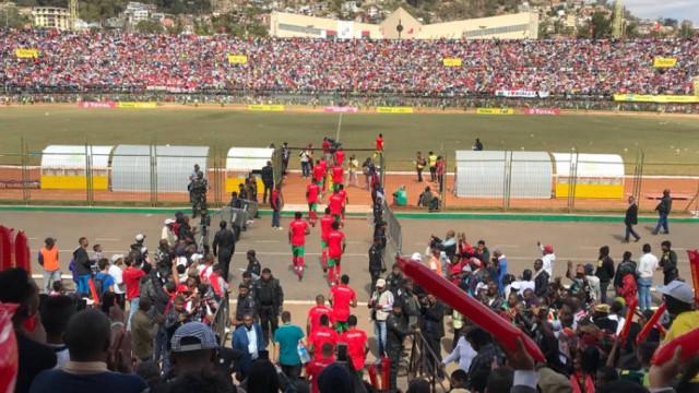 Um morto e quase 40 feridos num estádio de Madagáscar