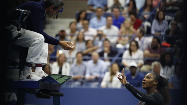 "US Open: Serena Williams multada por chamar ""ladrão"" a juiz luso"