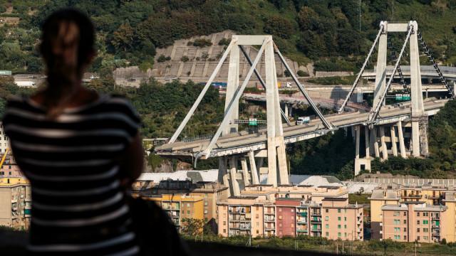 Reconstrução da ponte de Génova vai custar entre 150 a 200 milhões