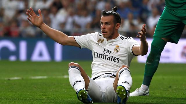 """Espanhóis dizem que Real Madrid está """"farto"""" de Bale"""