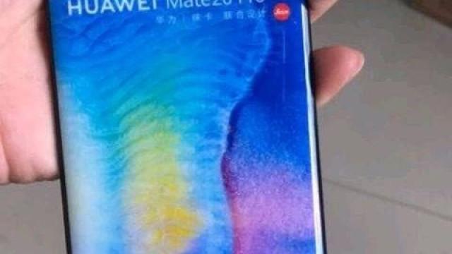 Nova imagem revela o (impressionante) ecrã do Mate 20 Pro
