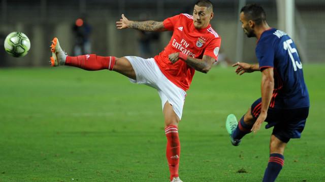 """Castillo: """"Quero triunfar no Benfica. Só penso nisso"""""""