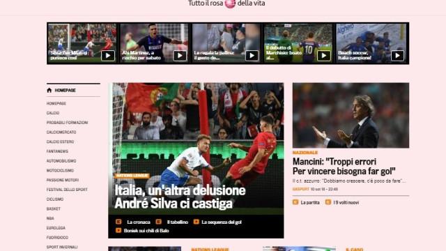 """""""Itália desilude mesmo diante de um Portugal sem Ronaldo"""""""