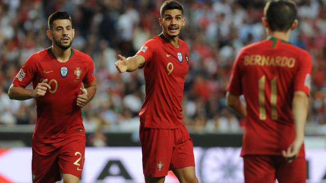 André Silva somou 13.º golo por Portugal e igualou três históricos