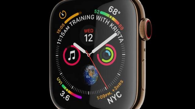 Maior e melhor. É este o objetivo da quarta geração do Apple Watch