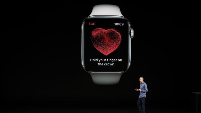 Foi finalmente lançada a opção mais esperada do Apple Watch Series 4