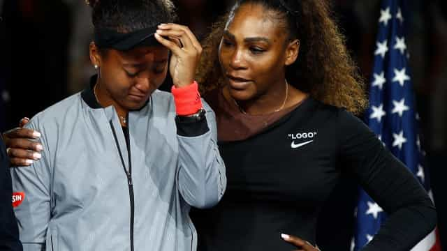 Naomi Osaka revela palavras de Serena Williams após final do US Open