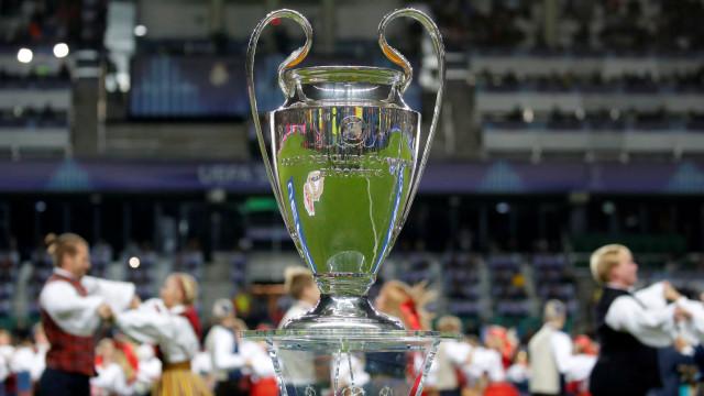 Champions: Siga em direto os resultados e marcadores da 1.ª jornada