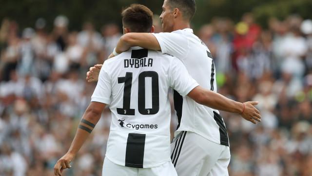 Dybala encantado por jogar ao lado de Messi... e Ronaldo