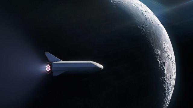 A SpaceX quer enviar um passageiro à Lua