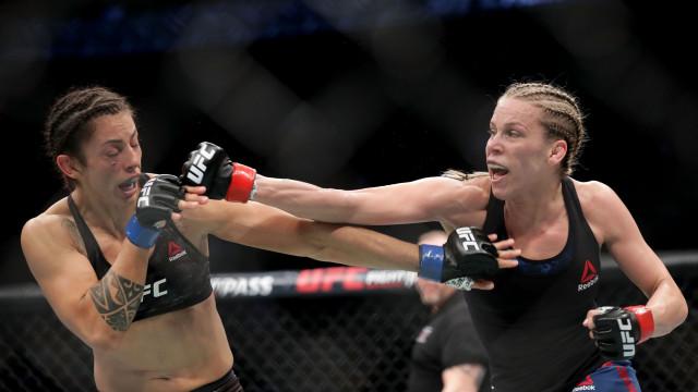 Lutadora da UFC suspensa até... 2044
