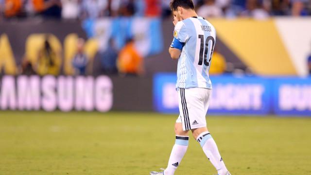 """""""Encontrei Messi a chorar como um menino que perdeu a mãe"""""""