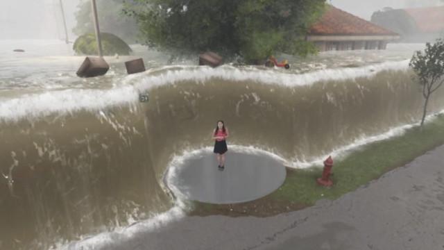 Vídeo mostra pior cenário provocado por Furacão Florence e torna-se viral