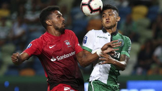 [1-0] Sporting-Marítimo: Arranca o segundo tempo em Alvalade