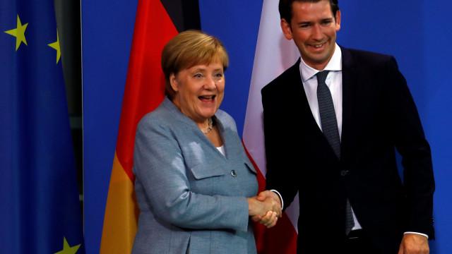 Áustria e Alemanha revelam consenso sobre fronteiras externas