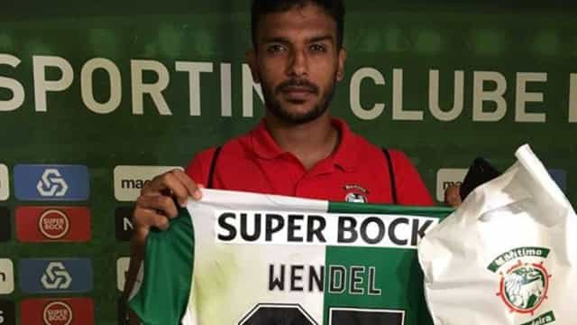 Áfrico foi ao balneário do Sporting pedir desculpa a Wendel