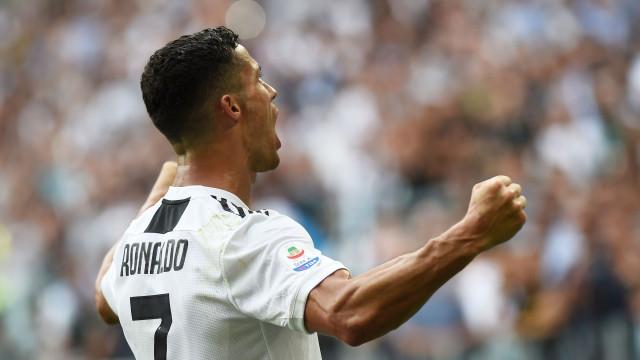 Famoso relator italiano enlouqueceu com os golos de Cristiano Ronaldo