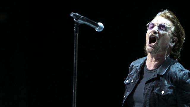 """Eis as imagens do concerto """"intimista"""" dos U2 em Lisboa"""