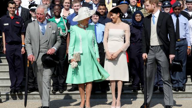 Harry e Meghan Markle vão faltar a festa de anos do príncipe Carlos