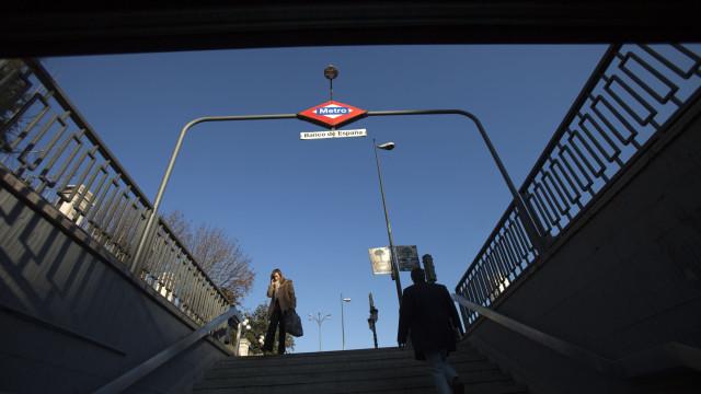 Portátil explodiu e gerou o pânico no metro de Madrid. Há 12 feridos