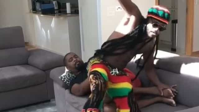 Evra 'vestiu-se' de Bob Marley e o resultado só poderia ser este