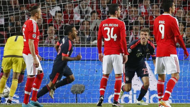 Bayern traça perfil do Benfica: A classe de Pizzi e a lenda de Luisão