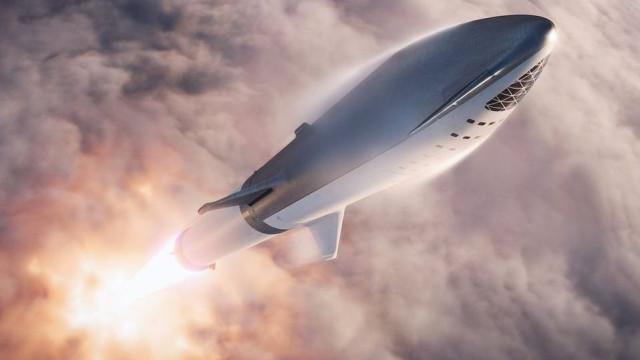 Elon Musk revela imagens do foguetão que um dia colonizará Marte