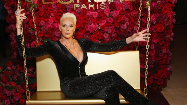 Aos 55 anos, após ser mãe, Brigitte Nielsen surge em boa forma
