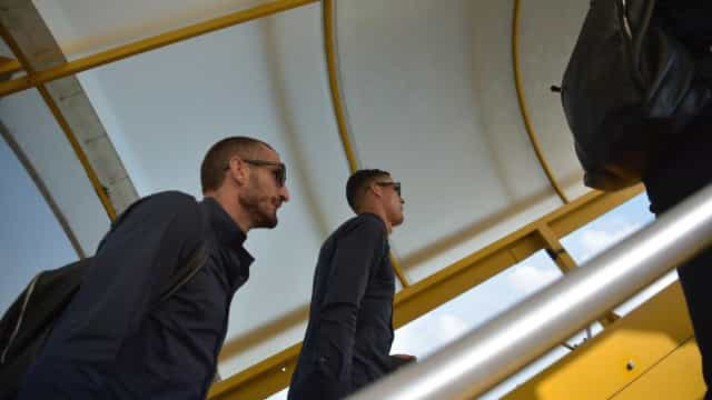 Ronaldo e companhia já estão a caminho de Valência