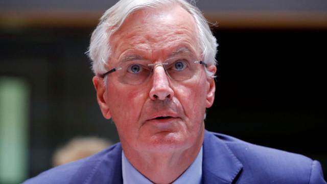 "Barnier reitera que ""mês de outubro é o momento da verdade"""