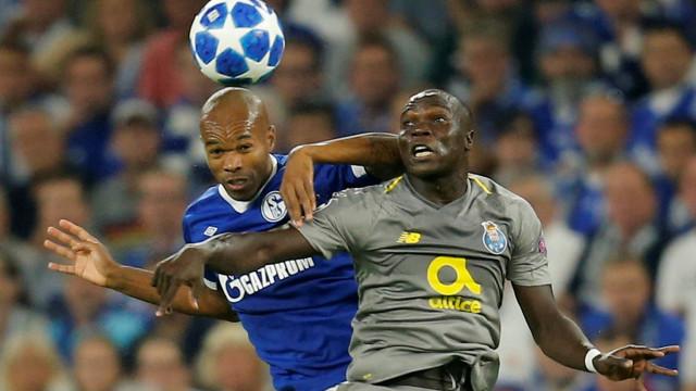 [0-0] Schalke 04-FC Porto: Intervalo em Gelsenkirchen
