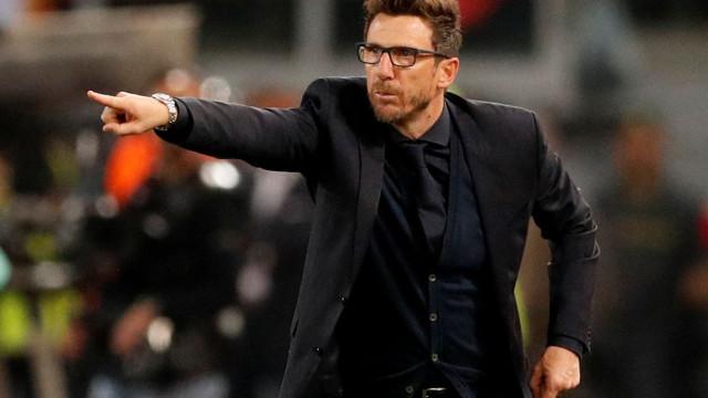 """Treinador da Roma sai em defesa do filho: """"Ninguém nos pediu desculpa"""""""