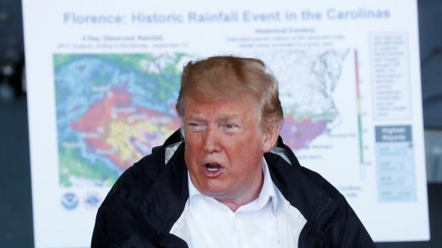 """Trump admite decisão se acusação a Kavanaugh for """"credível"""""""