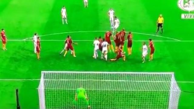 Primeiro golo do campeão europeu teve direito a obra de arte de Isco