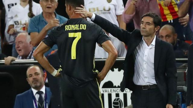 """Marcelino Toral: """"Cristiano Ronaldo estava muito afetado, a chorar... """""""