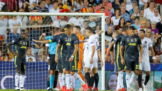 As onze expulsões da carreira de Cristiano Ronaldo