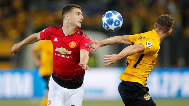Pogba desfez-se em elogios para a estreia de Dalot com o United
