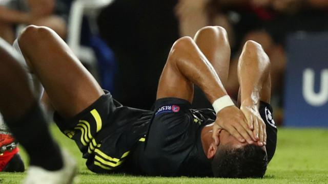 Relator italiano ficou furioso após a expulsão de Ronaldo