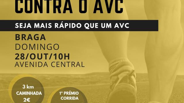 Corrida e caminhada vital contra o AVC volta a percorrer as ruas de Braga