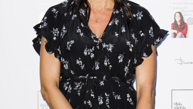 Christine Lampard foi mãe de uma menina