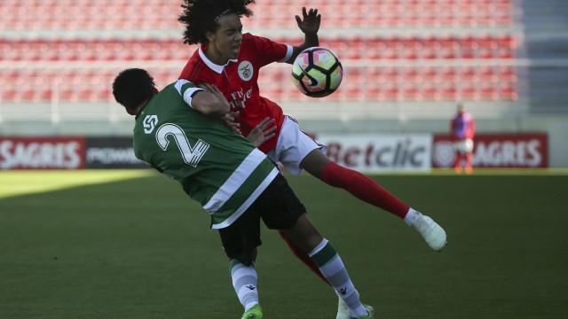 Rui Vitória chamou jovem dos sub-19 para o treino de sexta-feira