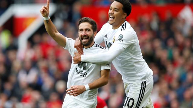 Golaço de Moutinho 'tramou' o Man. United em Old Trafford