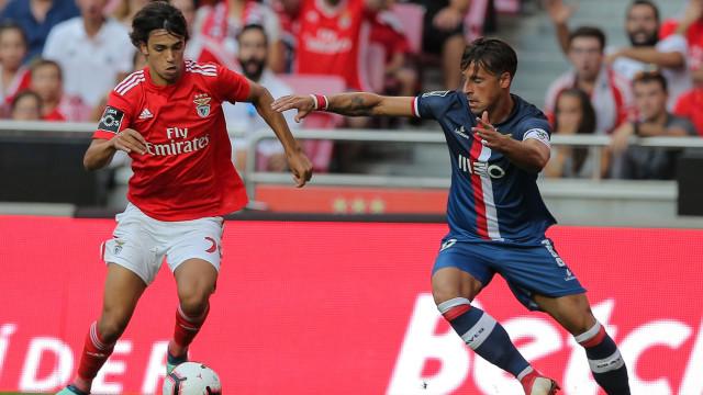 [1-0] Benfica-Desp. Aves: João Félix inaugura o marcador