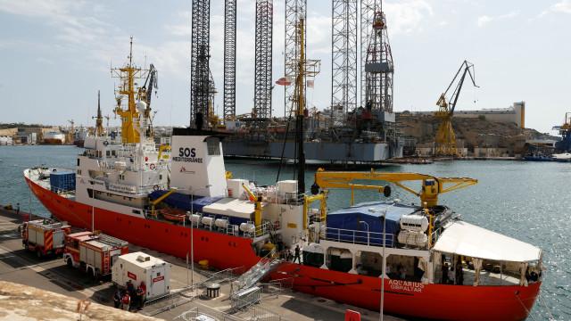 Panamá retira pavilhão ao navio Aquarius sob pressão de Itália